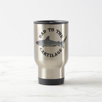 Bad to the Cartilage Travel Mug