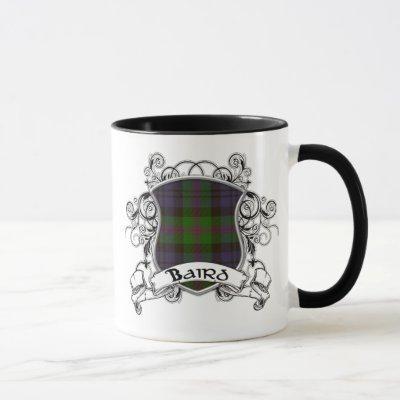 Baird Tartan Shield Mug