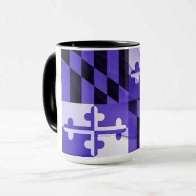 Baltimore Purple Maryland State Flag Coffee Mug