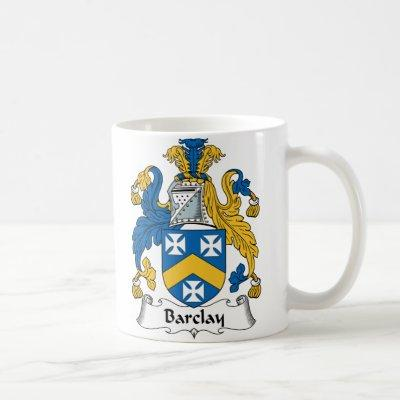 Barclay Family Crest Coffee Mug