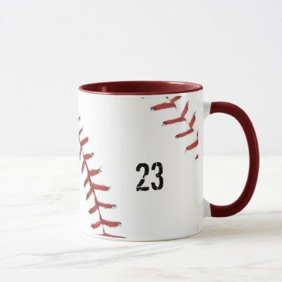 Baseball Theme mug