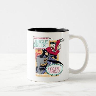 Batman | Jingle Bells, I Do Not Smell! Two-Tone Coffee Mug