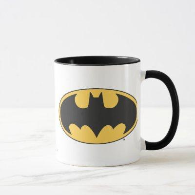 Batman Symbol | Oval Logo Mug