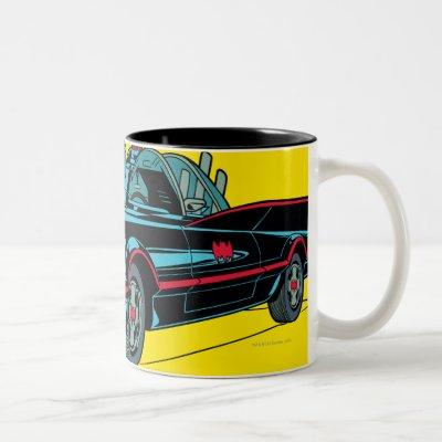 Batmobile Two-Tone Coffee Mug