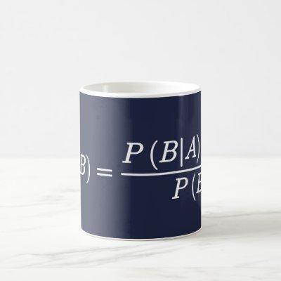Bayes Theorem Science Mathematical Equation Mug