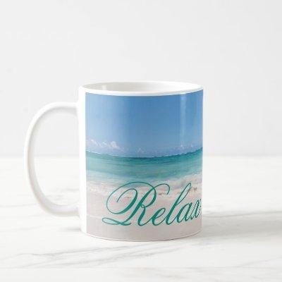Beach Backgroud Coffee Mug