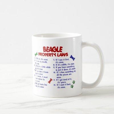 BEAGLE Property Laws 2 Coffee Mug