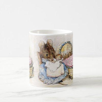 Beatrix Potter, Momma Mouse and Babies Coffee Mug
