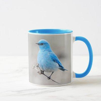 Beautiful Mountain Bluebird Mug