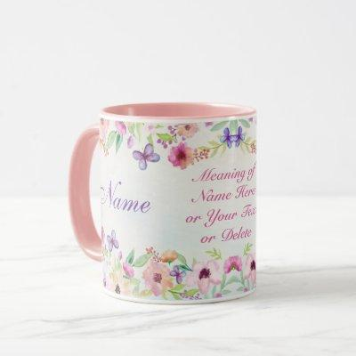 Beautiful Personalized Name Gifts with Meaning HER Mug