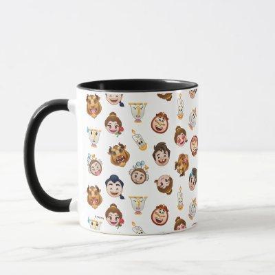 Beauty and the Beast Emoji | Character Pattern Mug
