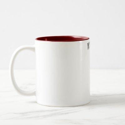 Beauty Salon Secrets Two-Tone Coffee Mug