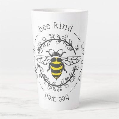 Bee Attitudes Latte Mug