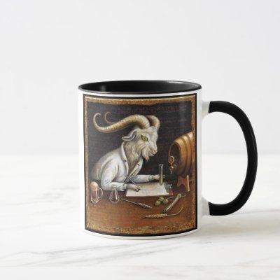 Beer Lover Goat Mug: Zymology Mug