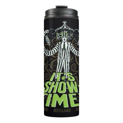 Beetlejuice | It's Show Time! Thermal Tumbler
