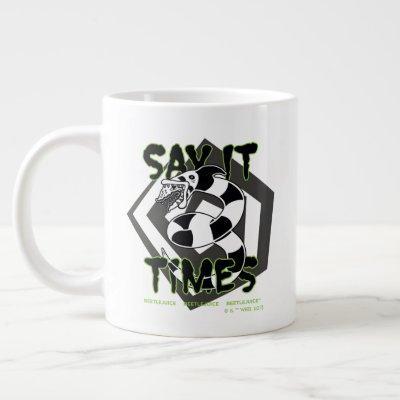 Beetlejuice | Say It 3 Times Giant Coffee Mug