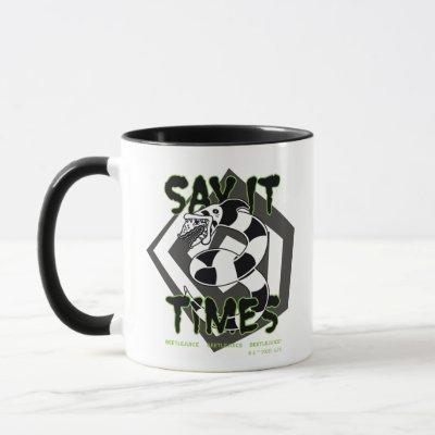 Beetlejuice | Say It 3 Times Mug