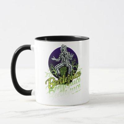 Beetlejuice | Sitting on a Tombstone Mug