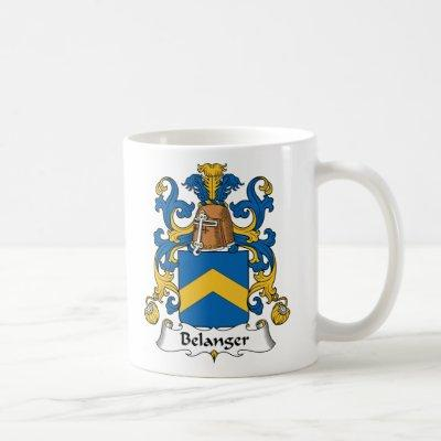 Belanger Family Crest Coffee Mug