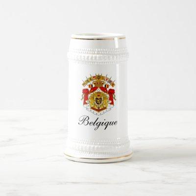 BELGIQUE (BELGIUM) BEER STEIN