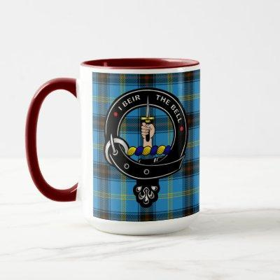 Bell Clan Badge & Tartan Mug