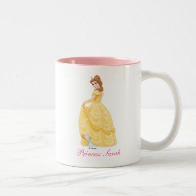 Belle Princess Two-Tone Coffee Mug