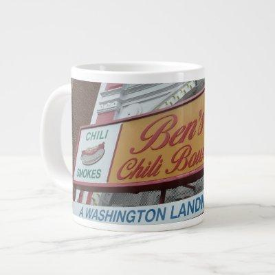 Ben's Chili Bowl: Iconic DC landmark Giant Coffee Mug