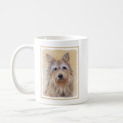 Berger Picard Painting - Cute Original Dog Art Coffee Mug