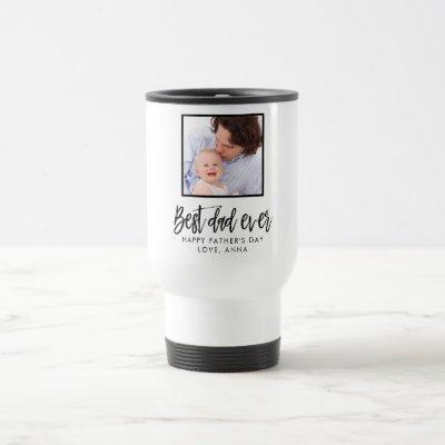Best Dad Ever Custom Personalized Travel Mug