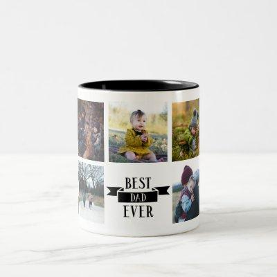 Best Dad Ever Custom Photo Mug