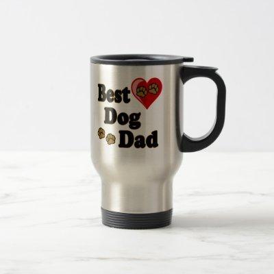Best Dog Dad Merchandise Travel Mug