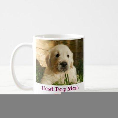 Best Dog Mom Ever Pet Photo Coffee Mug