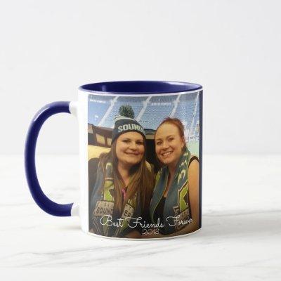 Best Friends Forever 2 Photo Scripture Mug