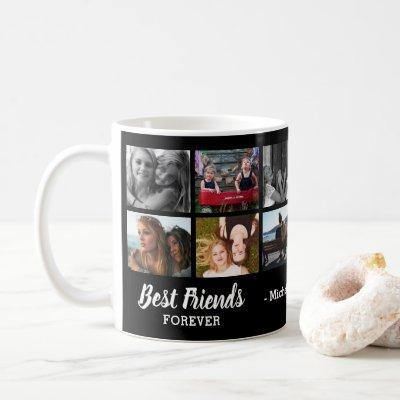 Best Friends Forever Photo Collage Coffee Mug