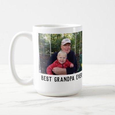best grandpa ever simple coffee mug