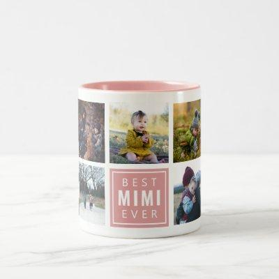 Best MIMI Ever Custom Photo Mug