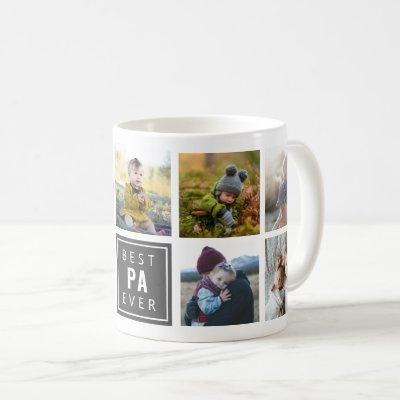 Best PA Ever Custom Photo Mug