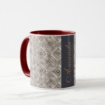 Best personalized Classy two-tone coffee, tea mug