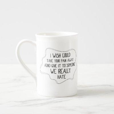 Best quote definition true friend - Funny gift Bone China Mug