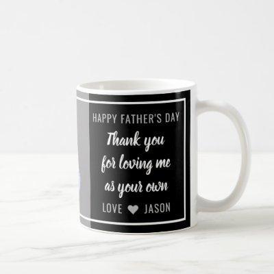 Best Step Dad Happy Father's Day Photo Coffee Mug