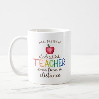 Best Virtual Teacher Ever | Distance Learning Coff Coffee Mug