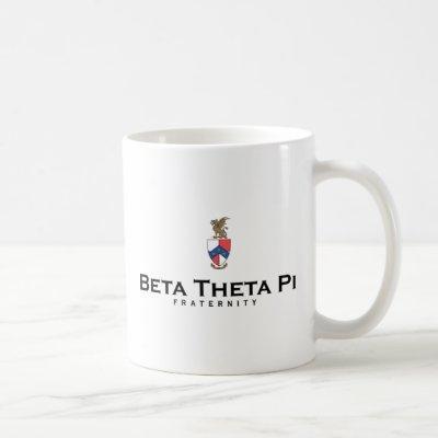 Beta Theta Pi with Crest - Color Coffee Mug