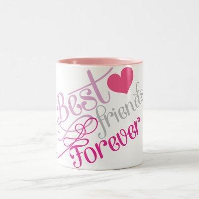 BFF - Fashion Best Friends Forever Two-Tone Coffee Mug