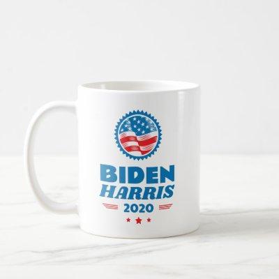 Biden Harris 2020 Flag Seal Coffee Mug