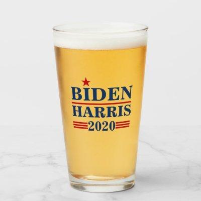 Biden Harris 2020 Glass