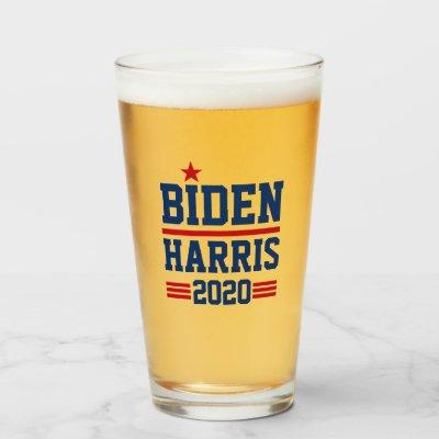 Biden Harris 2020 Star Glass
