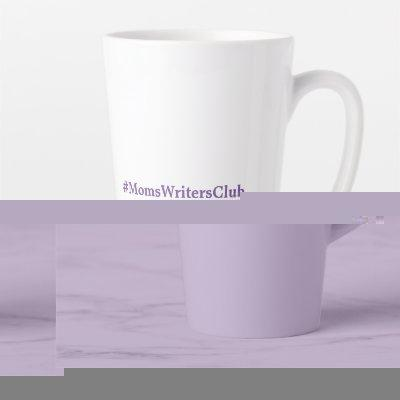 Big Purple LATTE Latte Mug