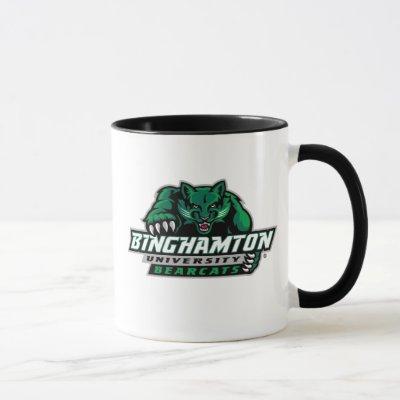 Binghamton University Bearcats Logo Mug