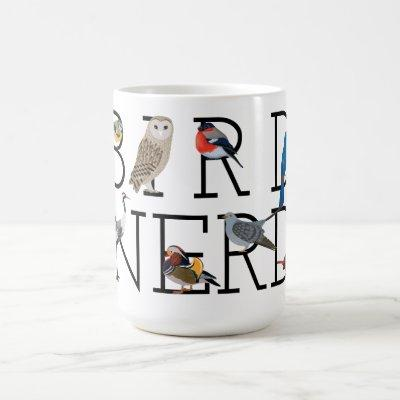 Bird Nerd Assortment Five Coffee Mug