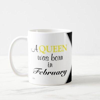 Birth Month Mugs